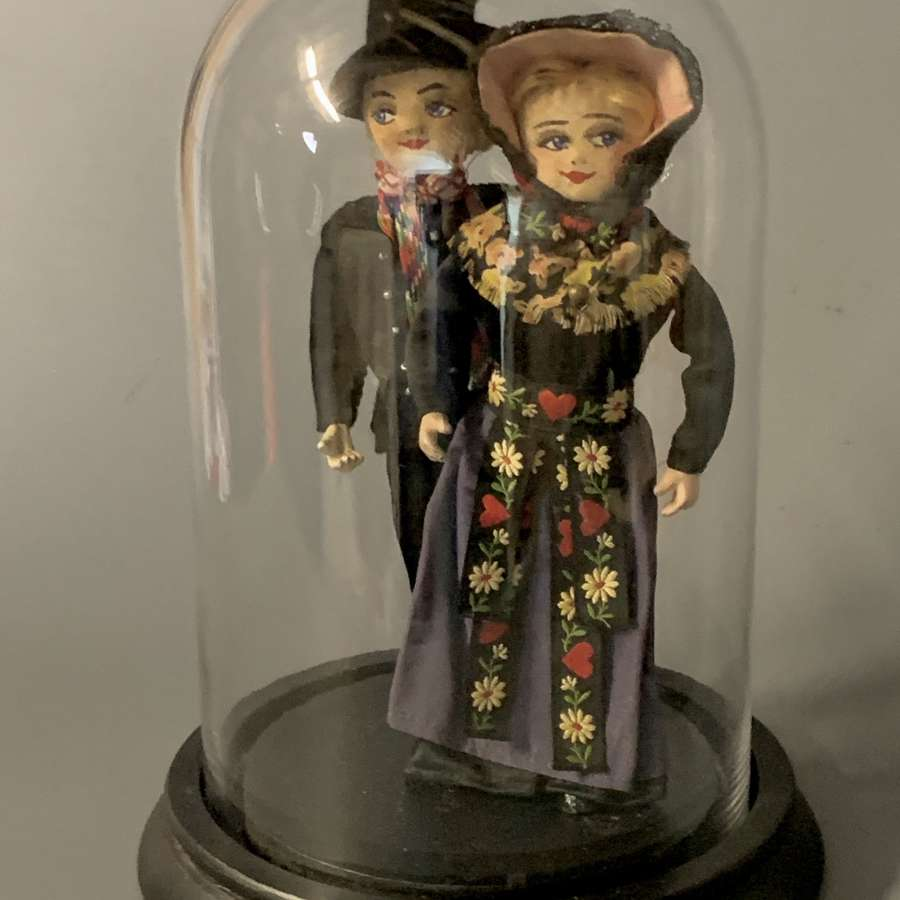 Pair of Vintage Iberian Costume Dolls