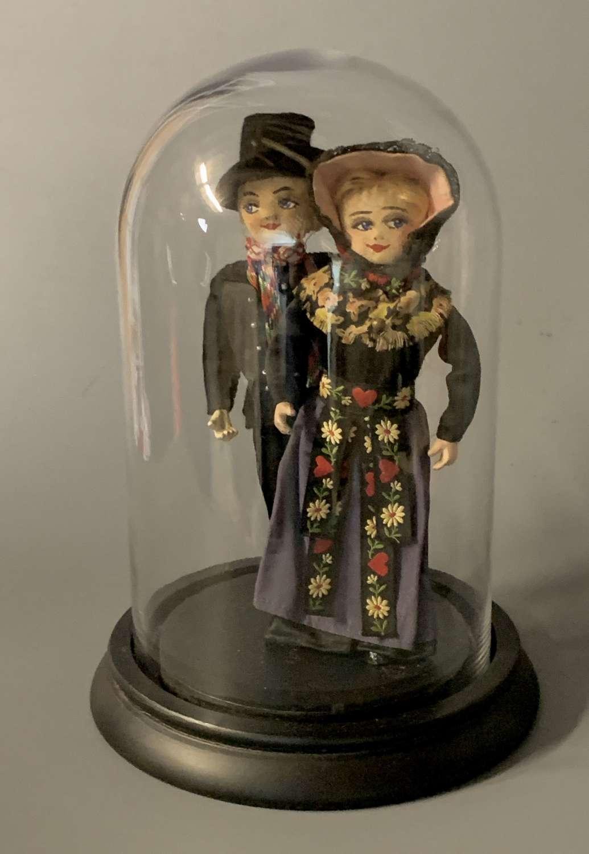 Pair of Vintage Iberian Costume Dolls