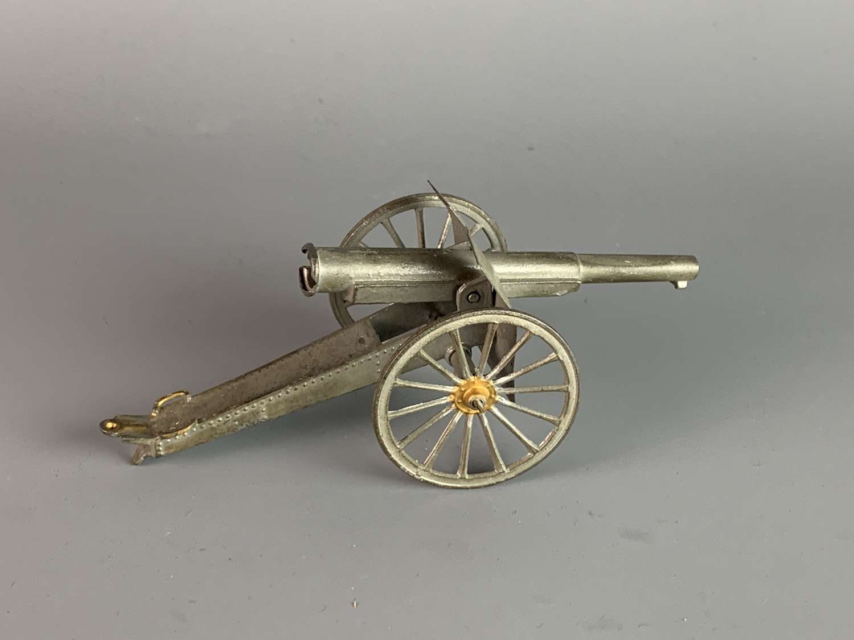 Antique Simon et Rivollet Toy Field Gun