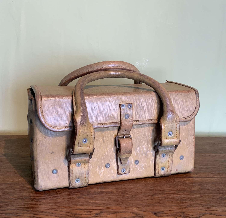War Department Leather Tool Bag