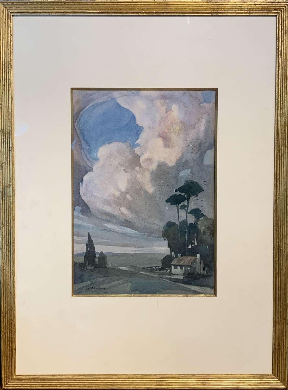 Charles Edward Burton Bernard, Storm Brewing, Watercolour