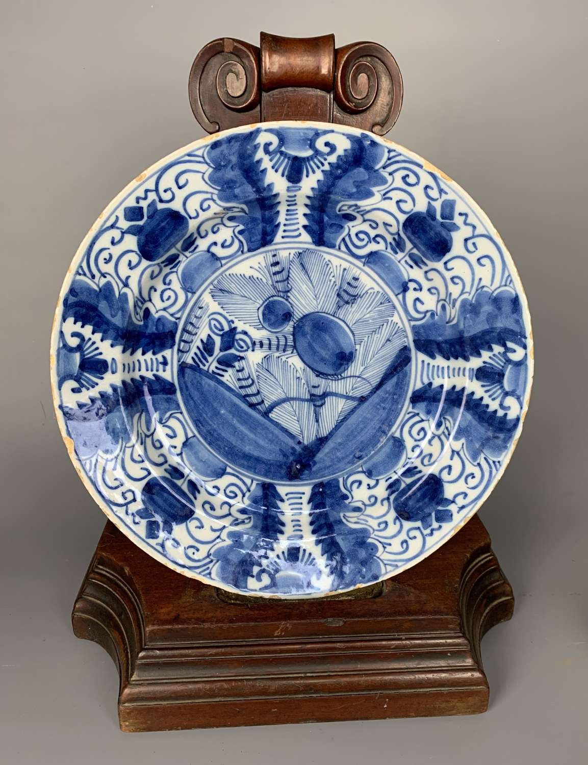 18th Century Delft Blue & White Charger