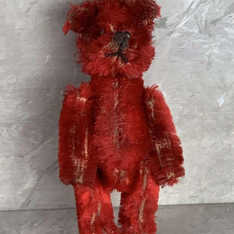Schuco Red Piccolo Bear Scent Bottle