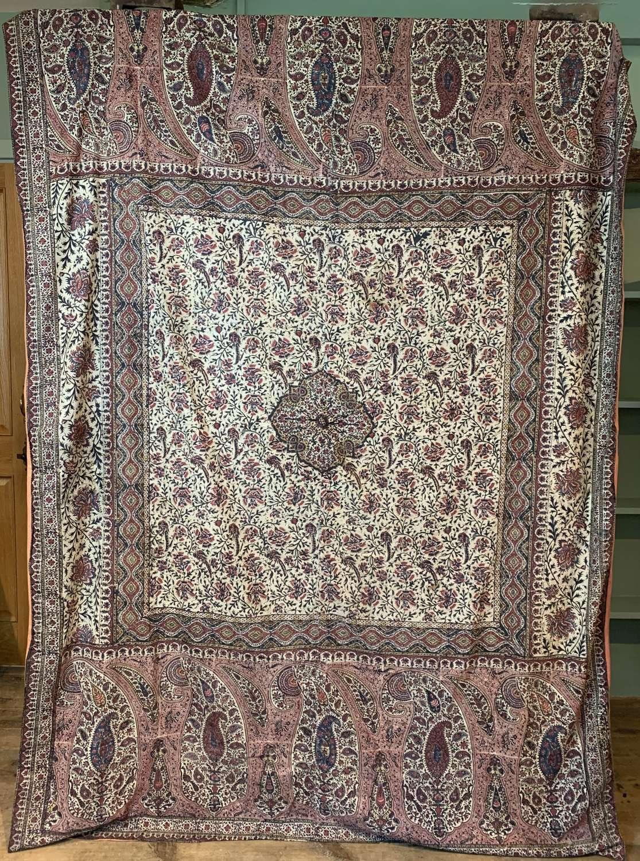 Antique Kalamkari Block Printed Textile Hanging