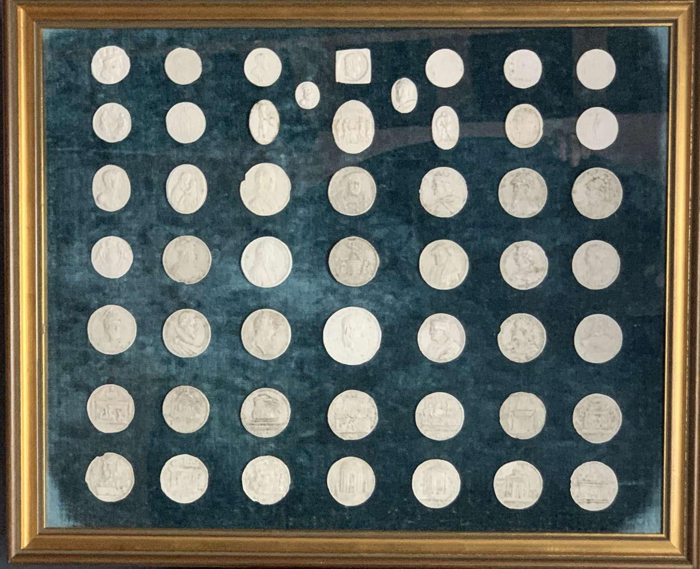 Grand Tour Plaster Casts of Renaissance Medallions