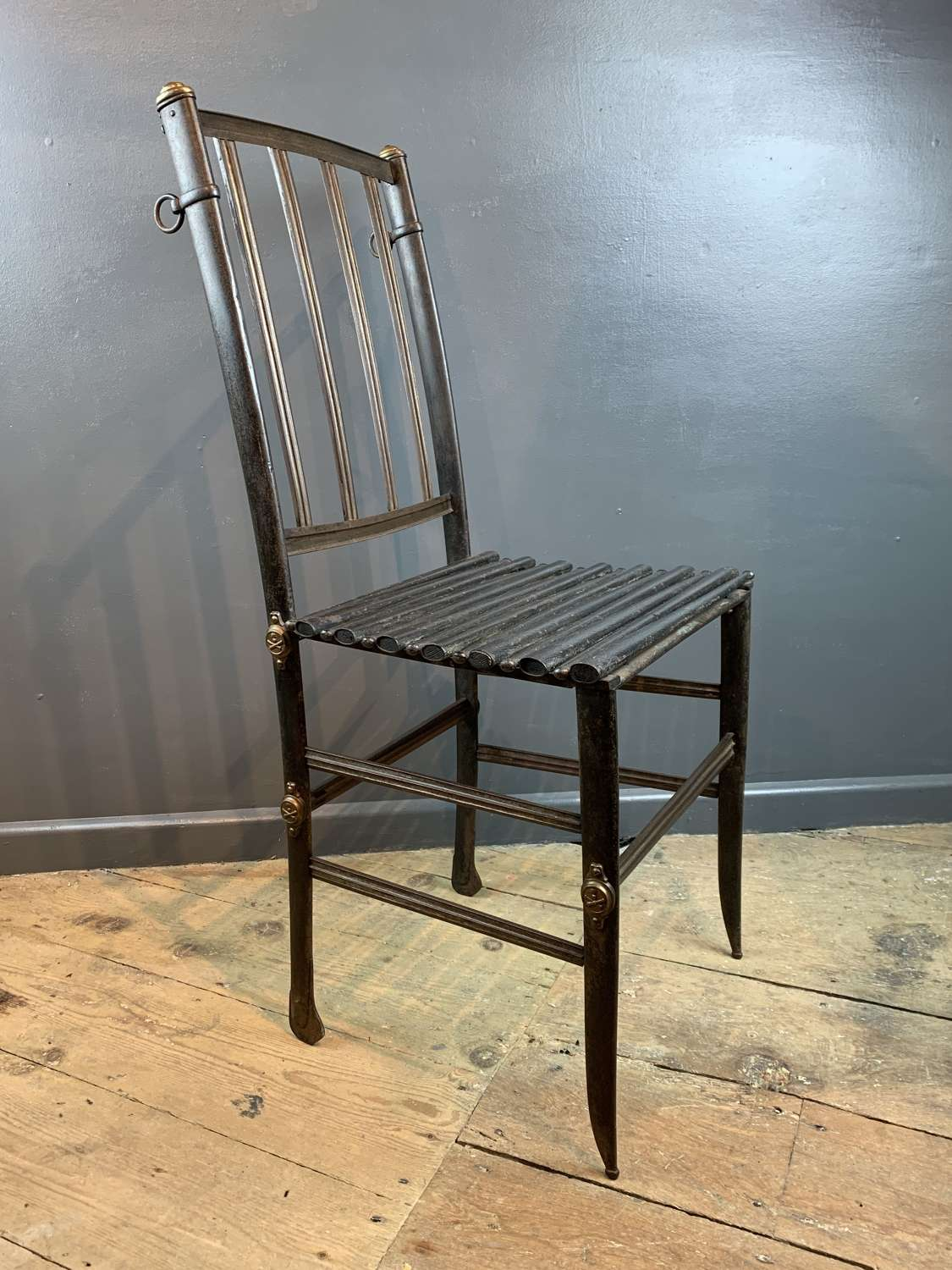 Very Unusual 19th Century French Armoury Chair